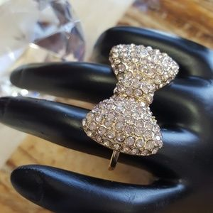 Jewelry - Bow tie ring and earrings